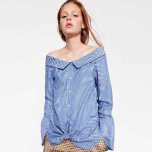Zara Off Shoulder Blouse